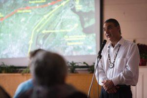 David Tall Pine speaking